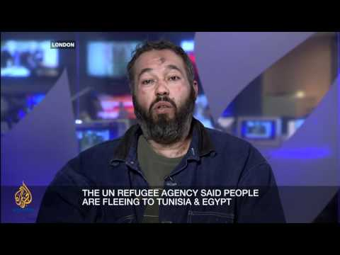 Inside Story - Libya's humanitarian crisis
