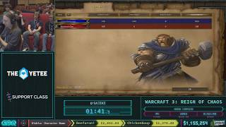 Warcraft III: Reign of Chaos by sajiki in 46:07 - AGDQ 2018 - Part 145