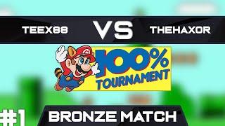 TEEX88 vs TheHaxor   Bronze Match Race 1   GSA SMB3 100% Speedrun Tournament Spring 2019
