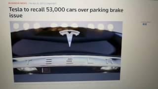 Tesla Recall | 53,000 2016 Model S & X