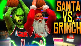 SANTA CLAUSE Vs THE GRINCH! 150 Three POINT SHOTS In EPIC 3 Point Shoot-Out!