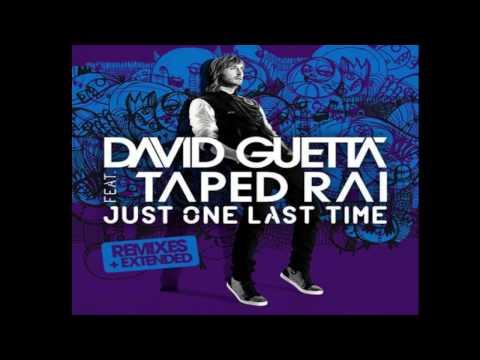 Just One Last Time - David Guetta Ft. Taped Rai | Lyrics video