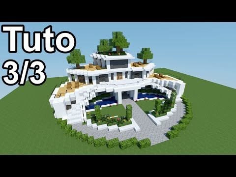 minecraft tutoriel maison moderne 3 3