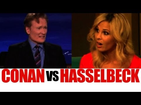Conan O'Brien Rails on Elisabeth Hasselbeck Over Harsh Obama Question