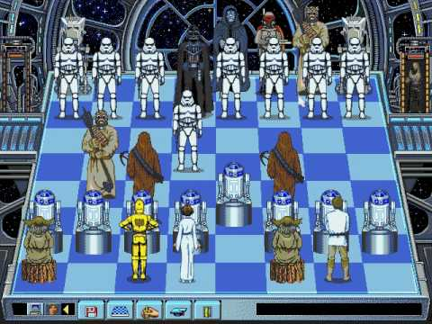 Software Toolworks - Star Wars Chess - 1993