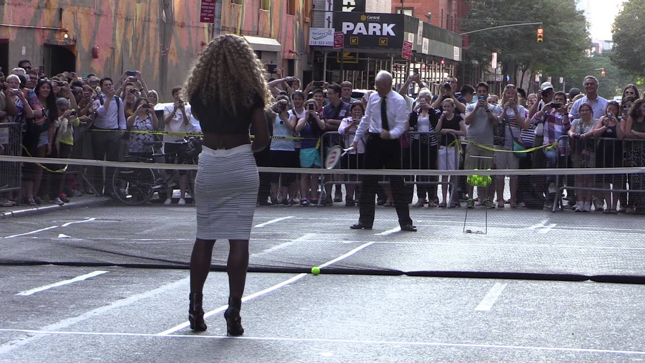 David letterman serena williams interview on dating 10