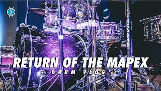 Drum Vlog // Return of the Mapex!