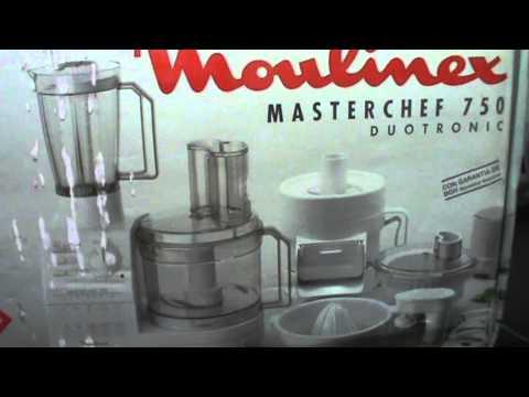 masterchef 750 duotronic moulinex videolike. Black Bedroom Furniture Sets. Home Design Ideas
