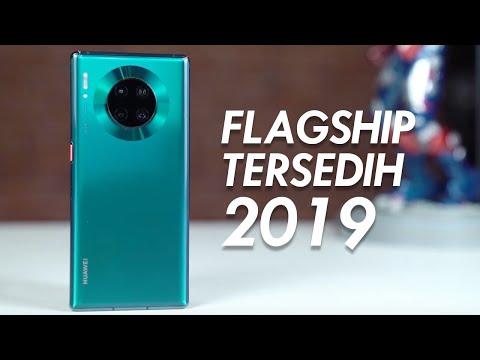 HP FLAGSHIP TERSEDIH 2019  Hands-on Huawei Mate 30 Pro