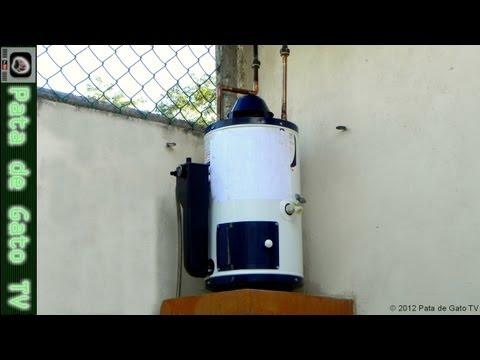 Instalando un Calentador para Agua / Installing a Water Heater