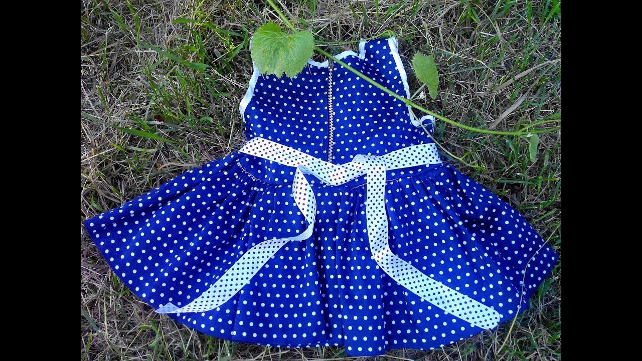Детские платья сшить своими руками