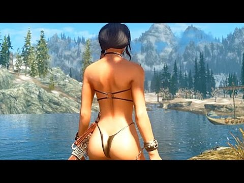 Skyrim Ultra Realistic Graphics Mod Part 1 - 1080p HD