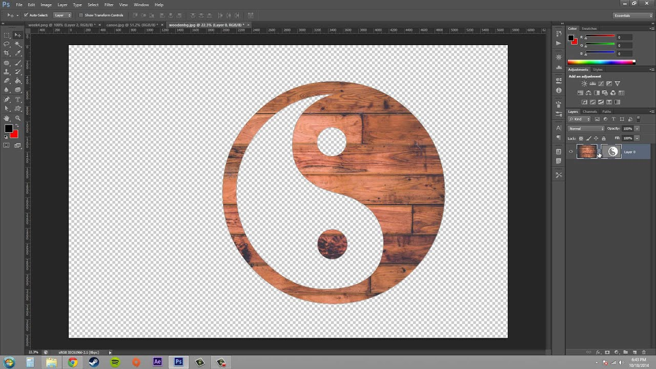 how to make a photography logo in photoshop cs6