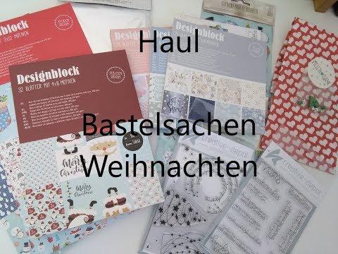 #Haul / Mein Einkauf bei Tedi und Creative Depot / Weihnachten