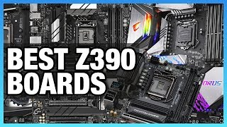 The Best Z390 Motherboards for VRMs, 10Gb LAN, Mini-ITX, Micro-ATX (2018)