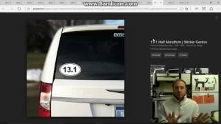 Mandela Effect 26.2 and 13.1 Bumper Stickers