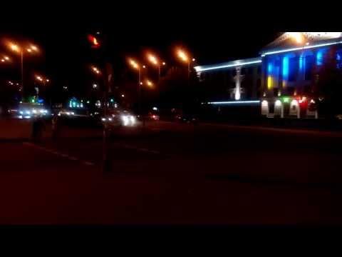 Тест камеры ThL W200. Видео (ночь)