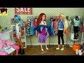Muñecas Barbie Rutina Después de la Escuela -  Centro Commercial y Mc Donalds - Royal High Ep. 14 |