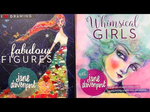 Review: Jane Davenport Fabulous Figures and Whimsical Girls Books!