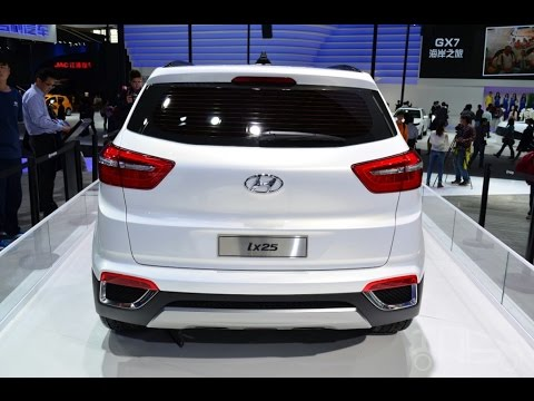 Hyundai ix25 Upcoming Mini Suv 2014  |  Compact Crossover