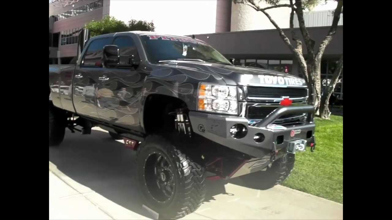 "22 Inch Tires >> DUBSandTIRES.com 2011 Chevy Silverado 10"" Lift Review 24 ..."