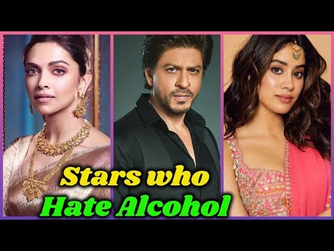 10 Bollywood Stars Who Hate Alcohol