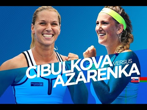Victoria Azarenka vs Dominika Cibulkova Highlights PART 1 Australian Open 2015