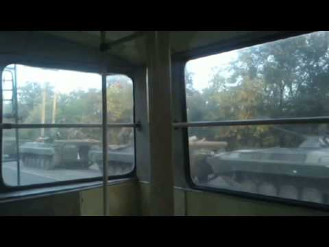 Video Evidence of Russian Invasion: Amateur footage appears to show Russian army deep inside Ukraine