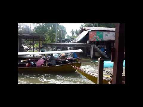 Floating Market Damnoen Saduak – Bangkok – Thailand
