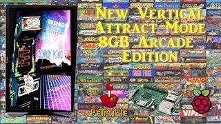 8gb Vertical (Portrait) Retropie Arcade Build - 800+ Classic Arcade Games
