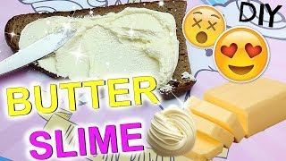 DIY BUTTER SCHLEIM Rezept wie CuteBabyMiley I how to make BUTTER SLIME without Borax I PatDIY