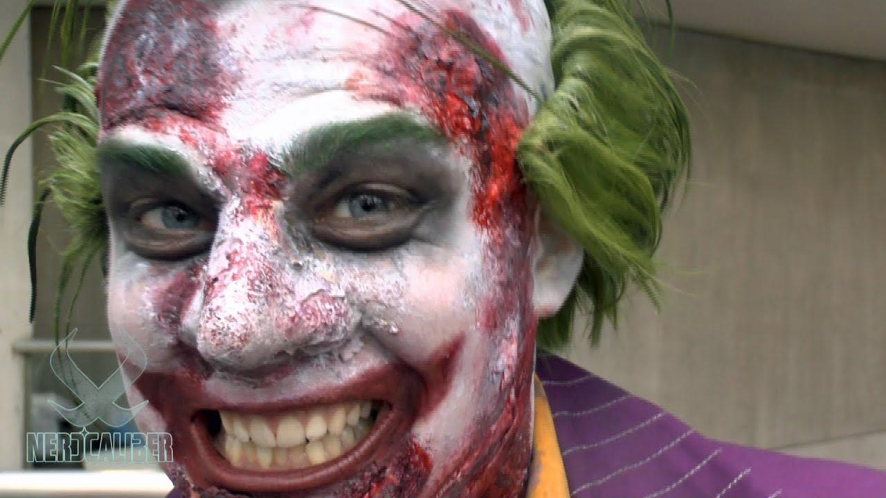 Arkham Joker Cosplay Joker Arkham City Cosplay at
