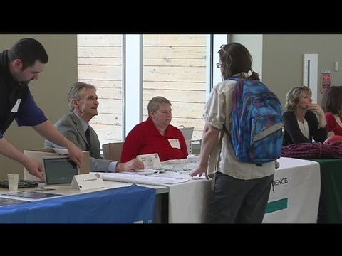 Job and career fair held at Greenfield Community College