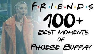 FRIENDS - 100+ Moments - Best of Phoebe Buffay HD All Seasons