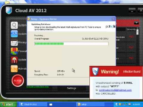 How to Remove Malware Completely (For example, Cloud AV 2012)