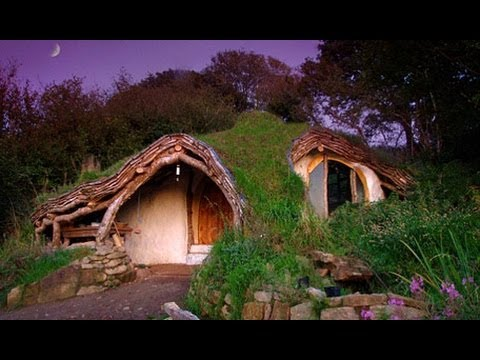 Build your own hobbit home youtube for Make own house