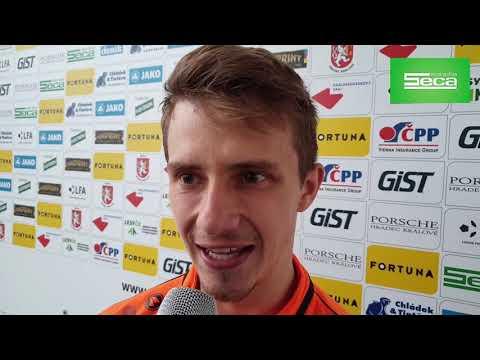 Adam Vlkanova se proti Sokolovu blýskl gólem a skvělým výkonem