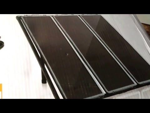 Harbor Freight 45 Watt Solar Panel Kit