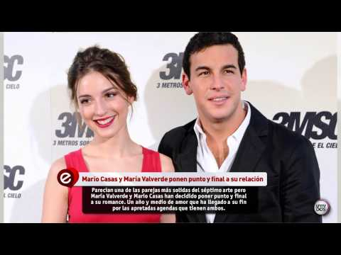 MARIO CASAS Y MARA VALVERDE ROMPEN CON SU RELACIN