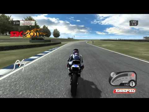 Cara a Cara - Sbk 09 Vs Sbk 11 - Sol - Chuva - Gameplay In 1080p