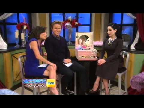 Dita von Teese on Access Hollywood Live