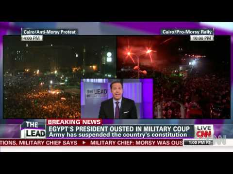 Mursi Ousted as Egypt's President; Constitution Suspended