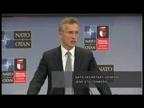 Jens Stoltenberg On Increase of NATO Presence in Baltic Region