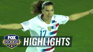 Tobin Heath scores in 2nd minute for USWNT against Jamaica | 2018 CONCACAF Women's Championship