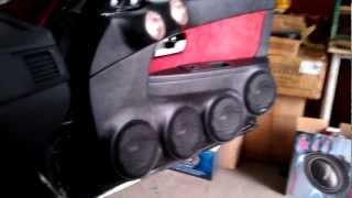 Sundown Audio front NEO PRO 6.5 + SAX 200.4