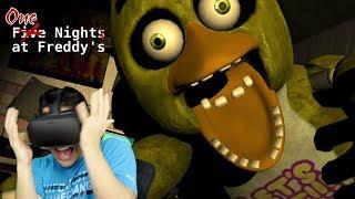 CHICA GOT HER REVENGE!!!! - One Night at Freddy's 3D (Oculus Rift)