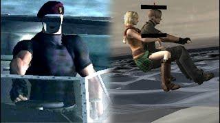 Curiosidades fuera del mapa de Resident evil 4 #4 | Krauser sin cara y los ojos de Mike