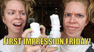 ROSE SHAPED FACE WASH! - FIRST IMPRESSION FRIDAY