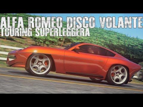 Alfa Romeo Disco Volante Touring Superleggera (Showcase)