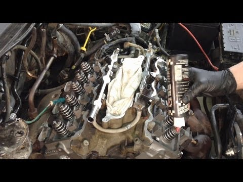 Ford Taurus 3.0L 12v Head Gaskets Replacement Pt 2
